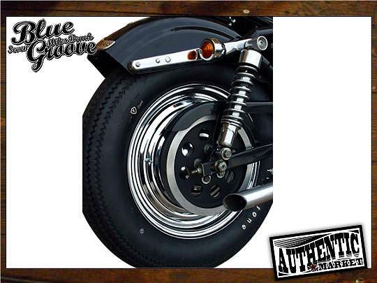 【GUTS CHROME】Starburst 16吋用 輪框蓋 - 「Webike-摩托百貨」