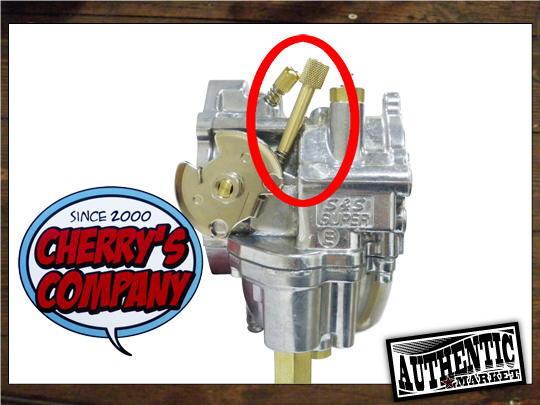 【GUTS CHROME】E化油器用 黃銅製怠速螺絲 - 「Webike-摩托百貨」