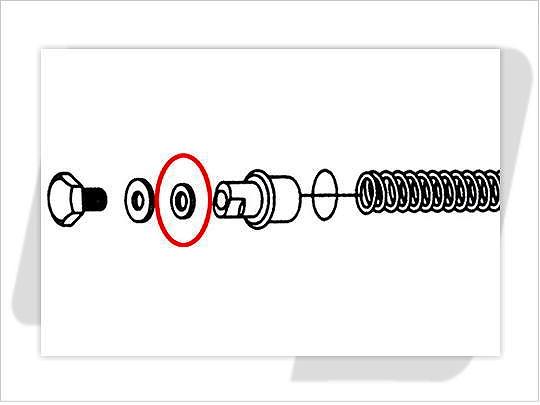 【GUTS CHROME】41mm前叉用 前叉上蓋油封 - 「Webike-摩托百貨」