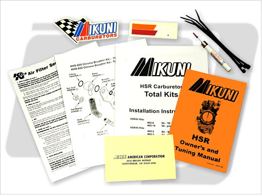 【GUTS CHROME】MIKUNI HSR42 化油器總成套件 EVO用 - 「Webike-摩托百貨」