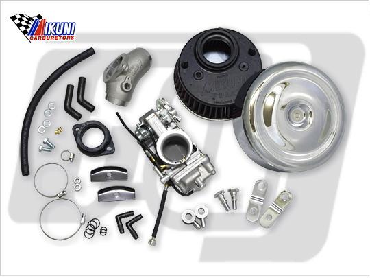 【GUTS CHROME】MIKUNI HSR45化油器總成套件 (雙凸輪軸用) - 「Webike-摩托百貨」