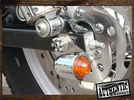 【GUTS CHROME】方向燈輪軸安裝支架 (不銹鋼) - 「Webike-摩托百貨」