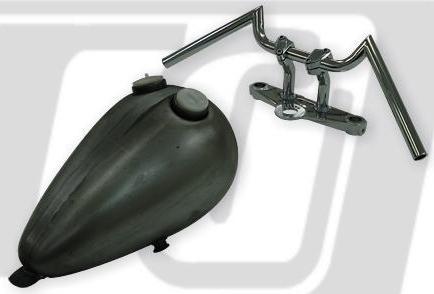 【GUTS CHROME】SWALLOW HANDLE 把手(有配線用凹痕) - 「Webike-摩托百貨」