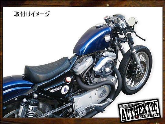 【GUTS CHROME】車坂下moto-cycle製 單座坐墊 (Diamond) - 「Webike-摩托百貨」