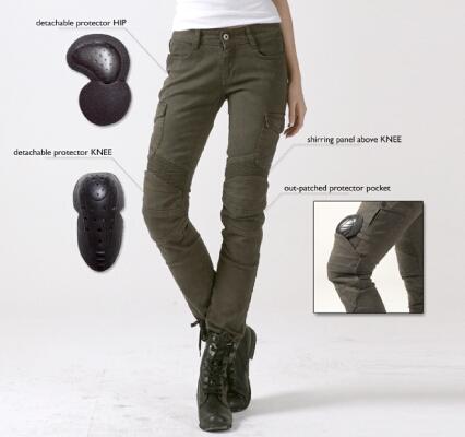 【uglyBROS】MOTOPANTS MOTORPOOL-G 女用牛仔車褲 - 「Webike-摩托百貨」