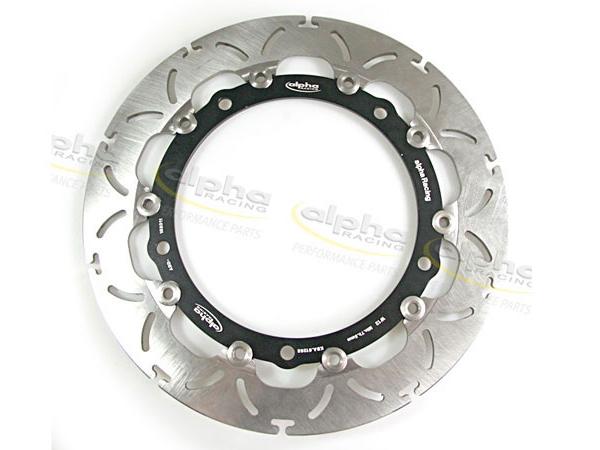 【alpha Racing】Racing 前煞車盤 - 「Webike-摩托百貨」