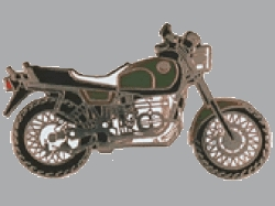 【Wegener】別針徽章 BMW R100R - 「Webike-摩托百貨」