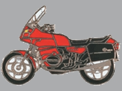 【Wegener】別針徽章 BMW R100RT - 「Webike-摩托百貨」