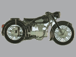 【Wegener】別針徽章 BMW R25/3 - 「Webike-摩托百貨」