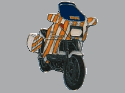 【Wegener】別針徽章 BMW K75 ADAC - 「Webike-摩托百貨」