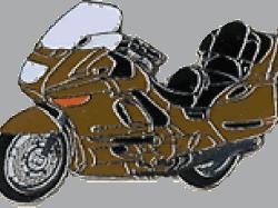 【Wegener】別針徽章 BMW K1200LT - 「Webike-摩托百貨」