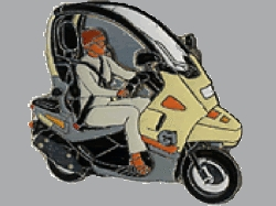 【Wegener】別針徽章 BMW C1 - 「Webike-摩托百貨」