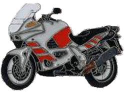 【Wegener】別針徽章 BMW K1200RS 後期 - 「Webike-摩托百貨」