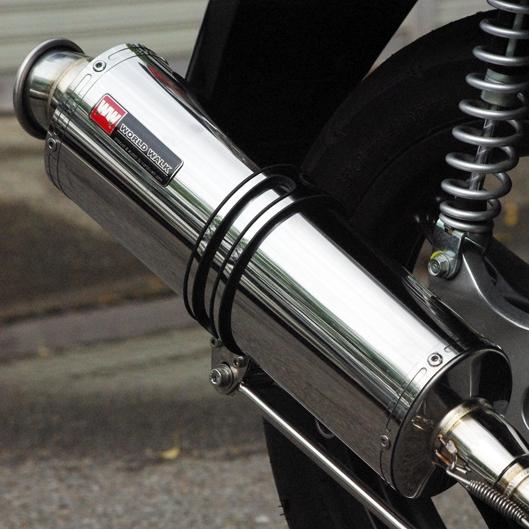 【World Walk】PCX用Power靜音排氣管 - 「Webike-摩托百貨」