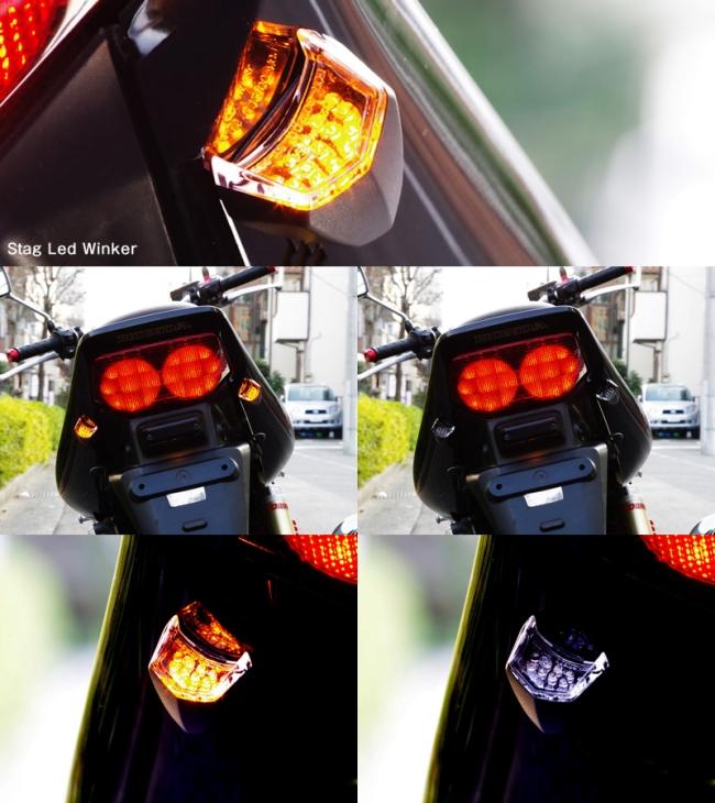 【World Walk】黏貼式 stage LED方向燈 - 「Webike-摩托百貨」