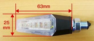 【World Walk】匕首型LED方向燈 - 「Webike-摩托百貨」