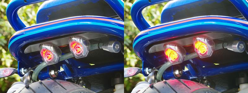 【World Walk】通用黏貼式:LED尾燈 - 「Webike-摩托百貨」