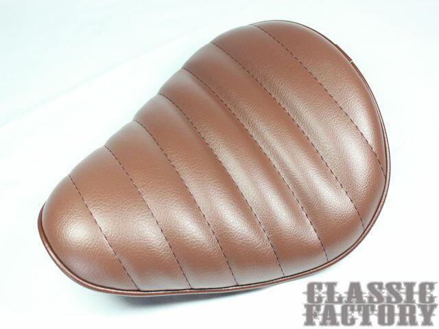 【CLASSIC FACTORY 】單坐墊 Tuck 毛毛蟲型 - 「Webike-摩托百貨」