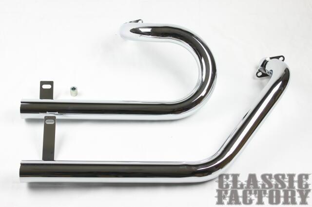 【CLASSIC FACTORY 】SPA-DORA 全段排氣管 - 「Webike-摩托百貨」