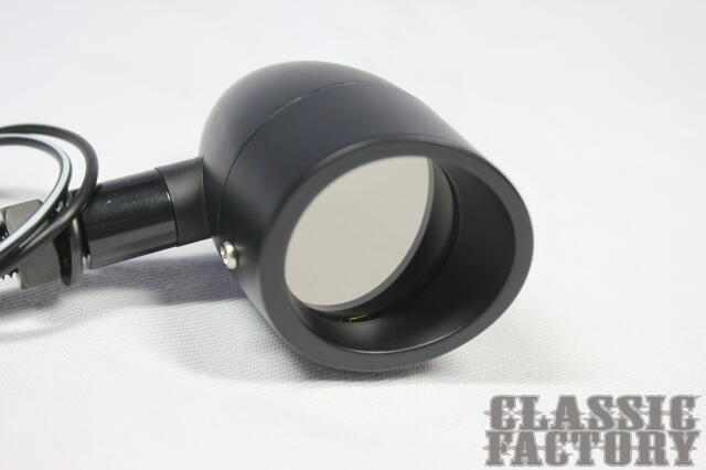 【CLASSIC FACTORY 】Mirror Visor 方向燈 (黑色 4個一組) - 「Webike-摩托百貨」