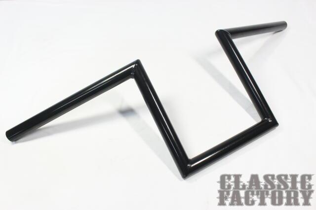 【CLASSIC FACTORY 】7/8吋 Robohan 把手8吋(20cm)黑 - 「Webike-摩托百貨」