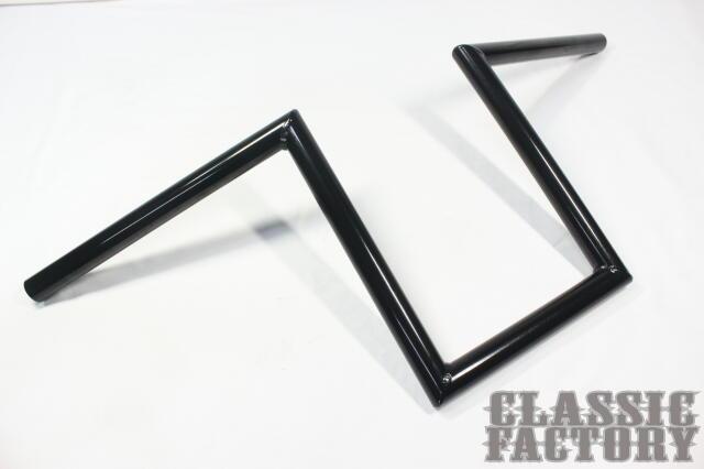 【CLASSIC FACTORY 】7/8吋 Robohan 把手10吋(25cm)黑 - 「Webike-摩托百貨」