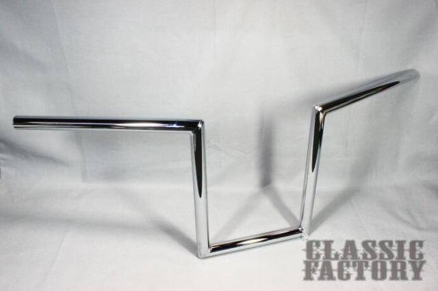 【CLASSIC FACTORY 】7/8吋 Robohan 把手10吋(25cm)鍍鉻 - 「Webike-摩托百貨」