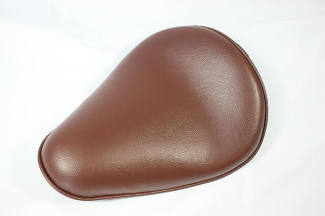 【CLASSIC FACTORY 】單坐墊 光滑型(棕) - 「Webike-摩托百貨」