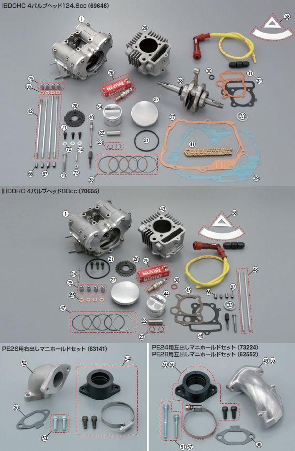 【DAYTONA】【DOHC】螺栓 - 「Webike-摩托百貨」