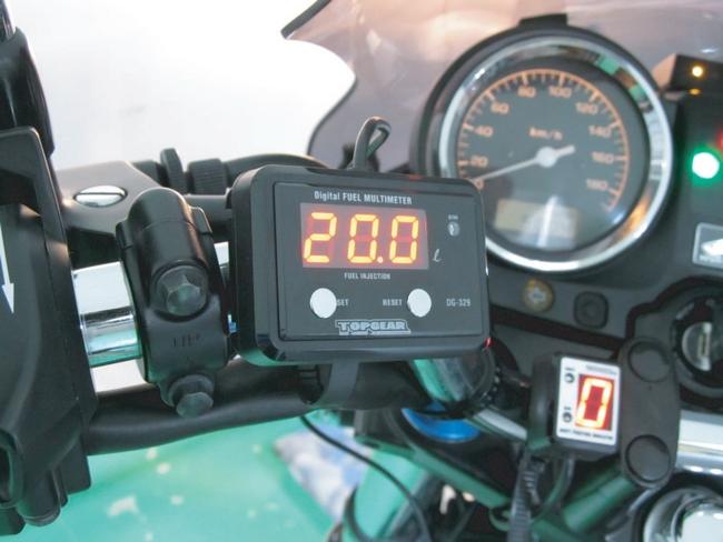 【PROTEC】DG-H03 多功能數位油量錶 - 「Webike-摩托百貨」