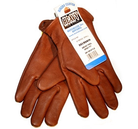 【MOTOBLUEZ】【HEAVY】鹿皮手套 PLAIN (棕) - 「Webike-摩托百貨」
