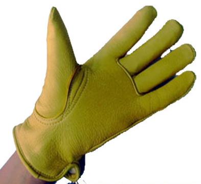 【MOTOBLUEZ】【HEAVY】鹿革手套 EXTRAWARM (金色) - 「Webike-摩托百貨」