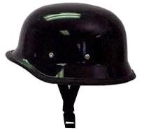 【MOTOBLUEZ】獨創裝飾用半罩安全帽(German) 黑色 - 「Webike-摩托百貨」