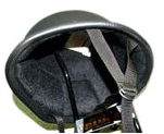 【MOTOBLUEZ】獨創裝飾用半罩安全帽(German) 霧黑色 - 「Webike-摩托百貨」