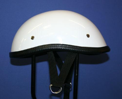 【MOTOBLUEZ】[Large Size] 獨創裝飾用半罩安全帽(Ducktail) - 「Webike-摩托百貨」