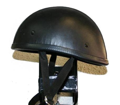 【MOTOBLUEZ】[Large Size] 獨創裝飾用皮革半罩安全帽(Eagle) - 「Webike-摩托百貨」