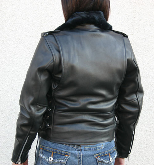 【MOTOBLUEZ】[女用]【HEAVY RED LABEL】 Double騎士外套 - 「Webike-摩托百貨」