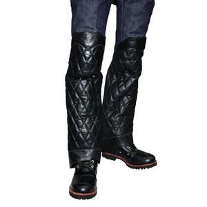 【MOTOBLUEZ】【HEAVY RED LABEL】鑽石型襯墊腿部Chaps - 「Webike-摩托百貨」