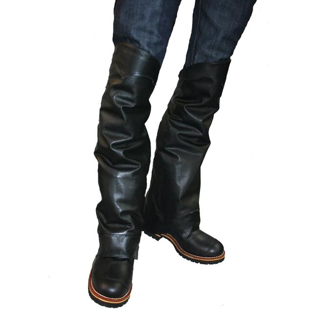 【MOTOBLUEZ】【HEAVY RED LABEL】素面腿部Chaps - 「Webike-摩托百貨」