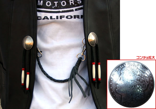 【MOTOBLUEZ】[LARGE SIZE]【HEAVY RED LABEL】 上油皮革背心(黑) - 「Webike-摩托百貨」
