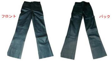 【MOTOBLUEZ】牛皮靴型褲 - 「Webike-摩托百貨」