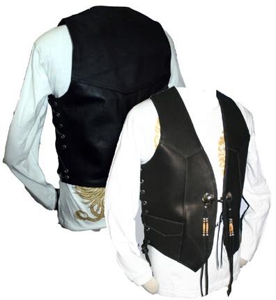 【MOTOBLUEZ】【HEAVY】Glove皮革背心B (黑) - 「Webike-摩托百貨」