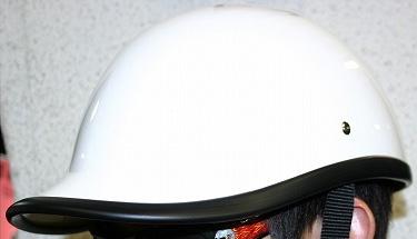 【MOTOBLUEZ】【裝飾用半罩安全帽】Goose Tail  MONOCHROME - 「Webike-摩托百貨」