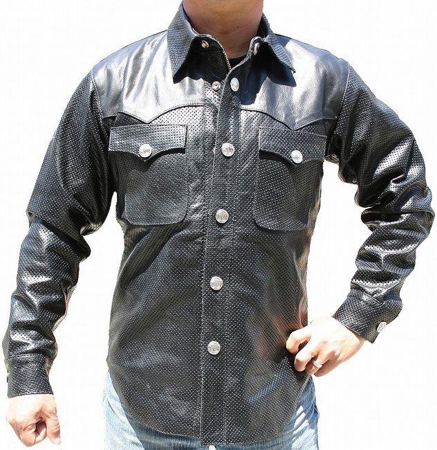 【MOTOBLUEZ】【HEAVY RED LABEL】Cool 皮革襯衫(Buffalo Snap) - 「Webike-摩托百貨」