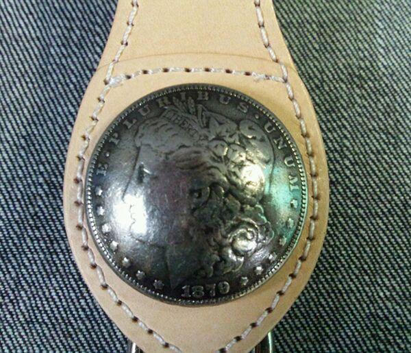 【MOTOBLUEZ】【HEAVY】皮革鑰匙圈・Morgan Concho - 「Webike-摩托百貨」