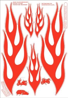 【ROUGH&ROAD】Deco Kit 6000轉印貼紙 - 「Webike-摩托百貨」
