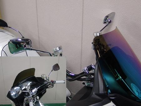【RISE CORPORATION】(電鍍)角型後視鏡(10mm) - 「Webike-摩托百貨」