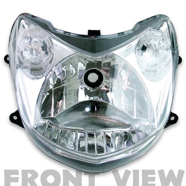 【RISE CORPORATION】原廠型電鍍頭燈 - 「Webike-摩托百貨」