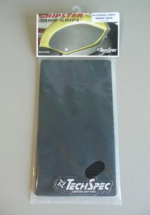 【techspec】Grip Star 通用油箱保護貼 MX Type High Fusion - 「Webike-摩托百貨」