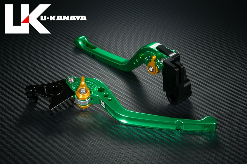 【U-KANAYA】GP Type鋁合金切削加工拉桿組[ZZR400/ER-6f専用] - 「Webike-摩托百貨」